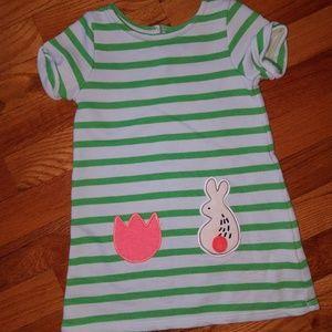 Toddler girl short sleeve tunic